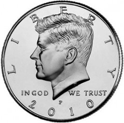 Kennedy Half Dollars, Clad Composition (1971-Present)