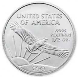 Platinum American Eagle, $50 Half Ounce Platinum (1997-Present)