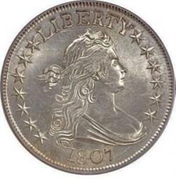 Draped Bust Half Dollars, Heraldic Eagle Reverse (1801-1807)