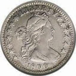 Draped Bust Half Dimes, Heraldic Eagle Reverse (1800-1805)