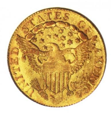 Liberty Cap Quarter Eagle, Early Gold Coins (1796-1807)