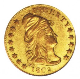 Liberty Cap Quarter Eagle, Early Gold Coins (1796-1807)