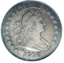 Draped Bust Half Dollars, Small Eagle Reverse (1796-1797)