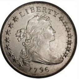 Draped Bust Half Dimes, Small Eagle Reverse (1796-1797)