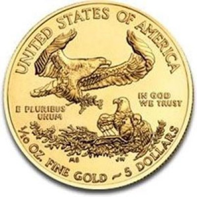 Gold American Eagle, $5 Tenth Ounce Gold (1986-Present)