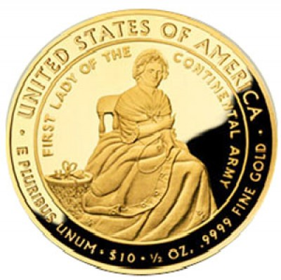 First Spouse, $10 Half Ounce Gold (2007-2016)
