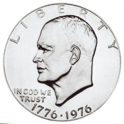 Eisenhower Dollars, Bicentennial Design (1976)