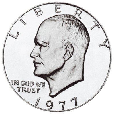 Eisenhower Dollars, Clad Composition (1971-1978)