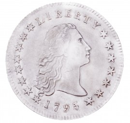 Flowing Hair, Early Silver Dollars (1794-1795)