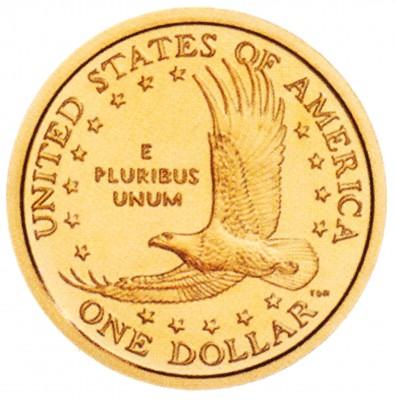 Sacagawea, Golden Dollar (2000-2008)