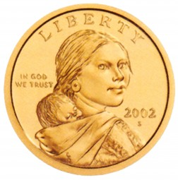 Sacagawea, Native American Dollars (2009-Present)