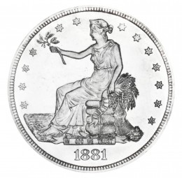Trade, Early Silver Dollars (1873-1885)