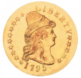 Liberty Cap Gold Eagle, Small Eagle (1795-1797)