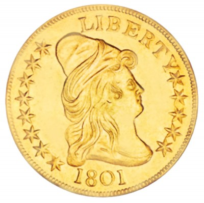 Liberty Cap Gold Eagle, Heraldic Eagle (1797-1804)