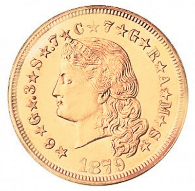 Stella Four Dollars, Early Gold Coins (1879-1880)