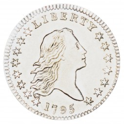 Flowing Hair, Early Silver Half Dollars (1794-1795)
