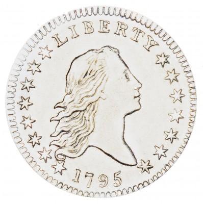 Flowing Hair, Early Silver Half Dollars (1794-1795)