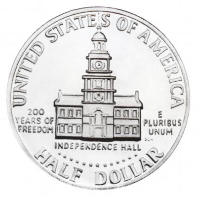 Kennedy Half Dollars, Bicentennial Design (1976)