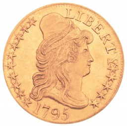 Capped Bust Half Eagle, Small Eagle Reverse (1795-1798)