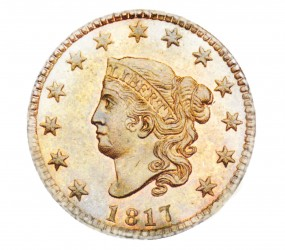 Coronet Liberty Head, Matron Early Copper Penny (1816-1839)