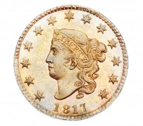 Coronet Liberty Head, Matron Early Copper Penny (1816-1839)