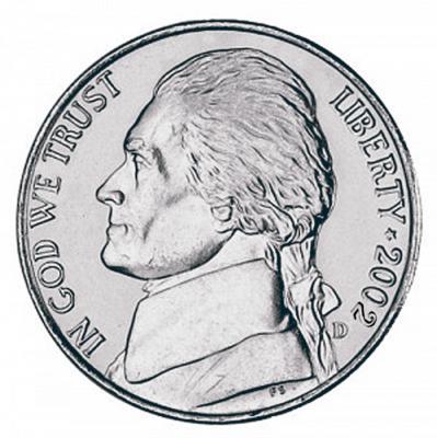 Jefferson Five Cents, Pre-War Composition (1938-Present)