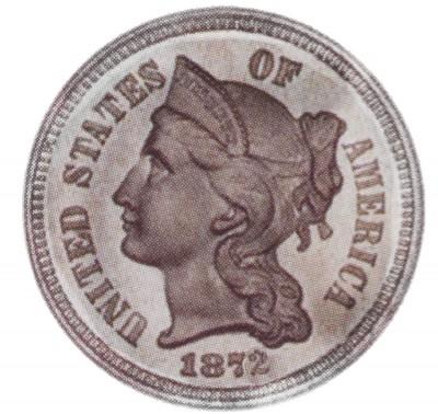 Nickel Three Cent, Copper Nickel Pieces (1865-1889)