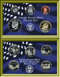 Proof sets, Mirror-Like Cameo Coins (1937-Present) (1937-Present)