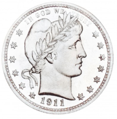 Barber, Early Silver Quarters (1892-1916)