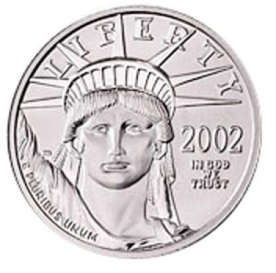 Platinum American Eagle, $25 Quarter Ounce Platinum (1997-Present)