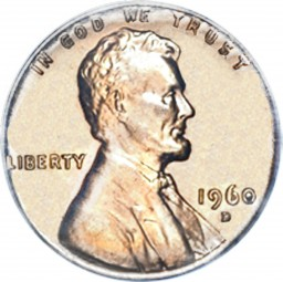 Lincoln Memorial Cent, Copper Alloy Penny (1959-1982)