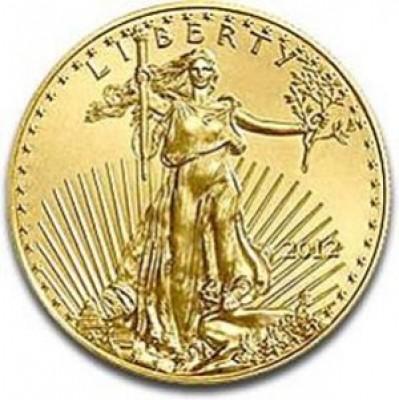 Gold American Eagle, $25 Half Ounce Gold (1986-Present)