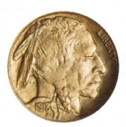 Buffalo Five Cents, Line Type (1913-1938)