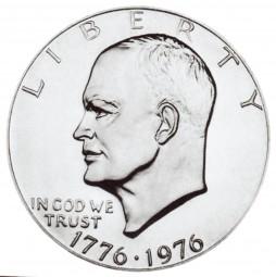 Eisenhower Dollars, Bicentennial Design (1976)