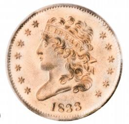Classic Head, Early Copper Half Penny (1809-1836)