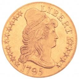 Capped Bust Half Eagle, Small Eagle Reverse (1795-1798)