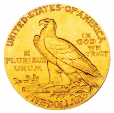 Indian Head Half Eagle, Early Gold Coins (1908-1929)