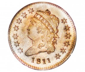 Classic Head, Early Copper (1808-1814)