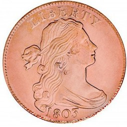 Draped Bust, Early Copper Penny (1796-1807)