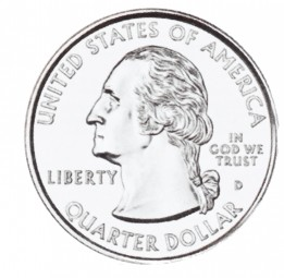 Washington, 50 State Quarters Program (1999-2008)
