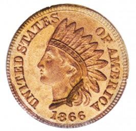 Indian Head Cent, Bronze Composite Penny (1864-1909)