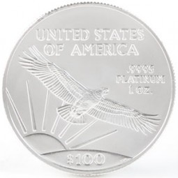Platinum American Eagle, $100 One Ounce Platinum (1997-Present)