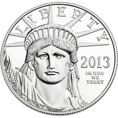 Platinum American Eagle, $100 One Ounce Platinum (1997-Present)
